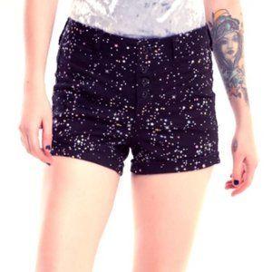 Blackheart Pastel Stars V-Stitch Shorts